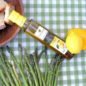 Olio Extravergine 100% Italiano Aromatizzato al Limone - Ambientato