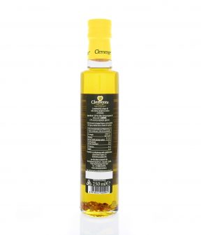 Olio Extravergine 100% Italiano Aromatizzato al Limone - Retro
