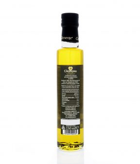 Olio Extravergine 100% Italiano Aromatizzato al Tartufo Nero - Retro
