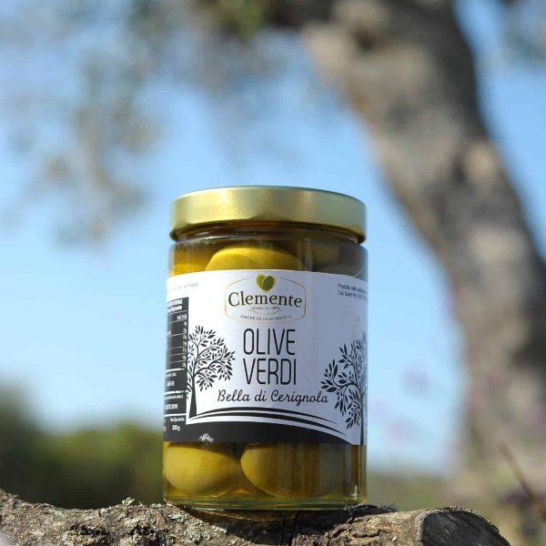 Bella di Cerignola Olive Verdi Pugliesi 580gr - Ambientato