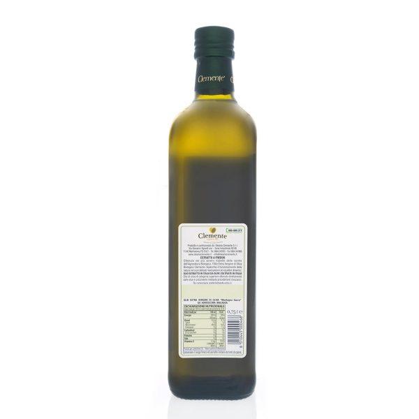 Olio Extravergine 100% Biologico Montagna Sacra 750ml - Retro