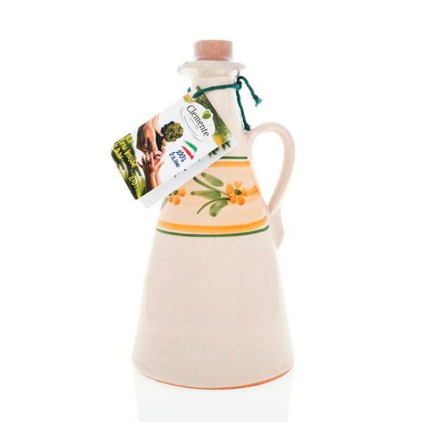 Orciolino in ceramica Giallo Le Zagare 100% Italiano 500ml