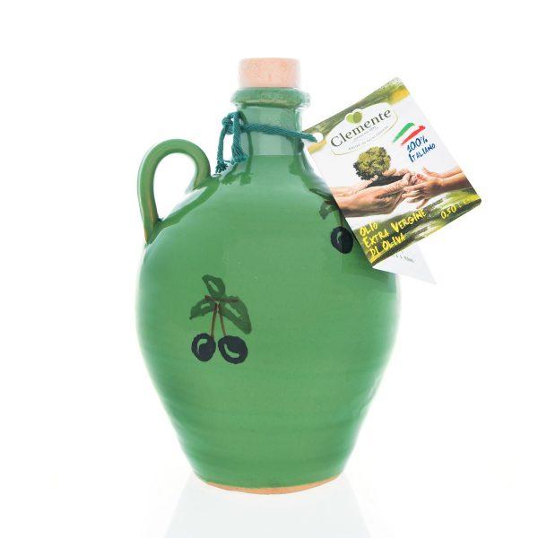 """Orciolino Classico Verde """"Le Zagare"""" 100% Italiano 500ml"""