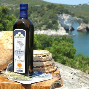 Olio Extravergine 100% Italiano DOP Re Manfredi 750ml - Ambientato 1