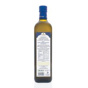 Olio Extravergine 100% Italiano DOP Re Manfredi 750ml - Retro
