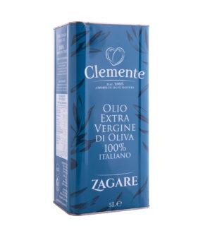 Olio Extravergine 100% Italiano - Le Zagare Latta Diagonale 5Litri
