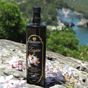 Olio Extravergine 100% Italiano - Le Zagare 1 Litro - Ambientato