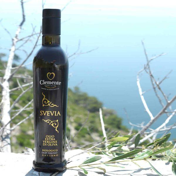 Olio 100% Italiano Bio-DOP Svevia 750ml - Ambientato