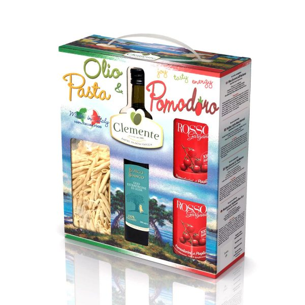 """valigetta """"Olio, Pasta e Pomodoro"""" Made in Italy"""