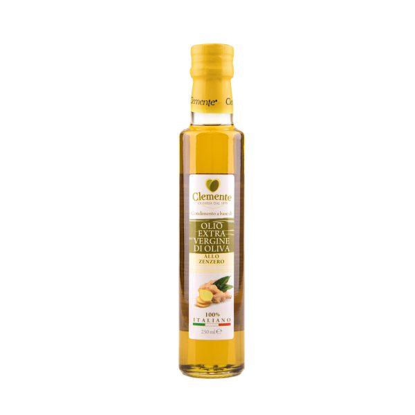 """Olio extravergine 100% Italiano """"Aromatizzato allo Zenzero"""""""