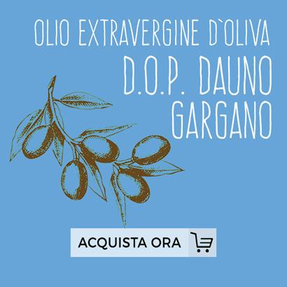 Olio Extravergine d'Oliva DOP Dauno Gargano