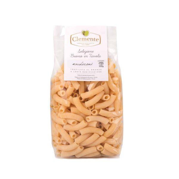 Maccheroni 100% Grano Italiano - Olio Clemente