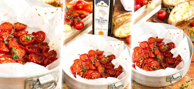 Pomodorini in Confit - Testata