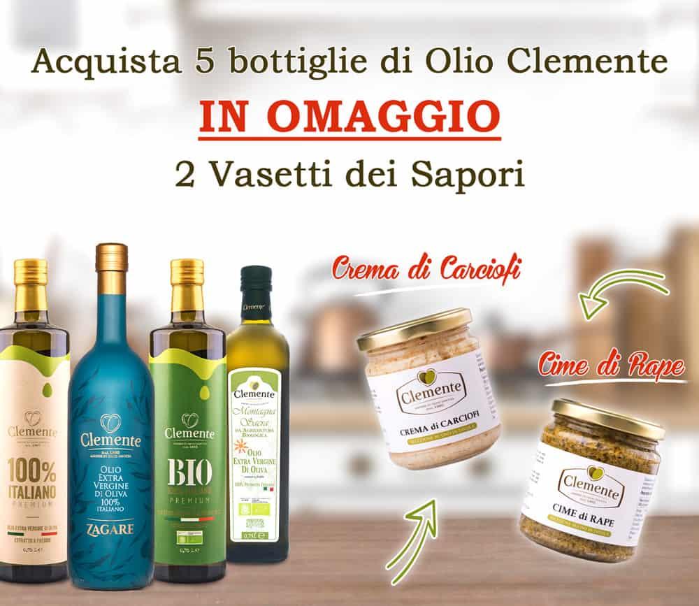 Slide Promo Vasetti Mobile - Olio Clemente
