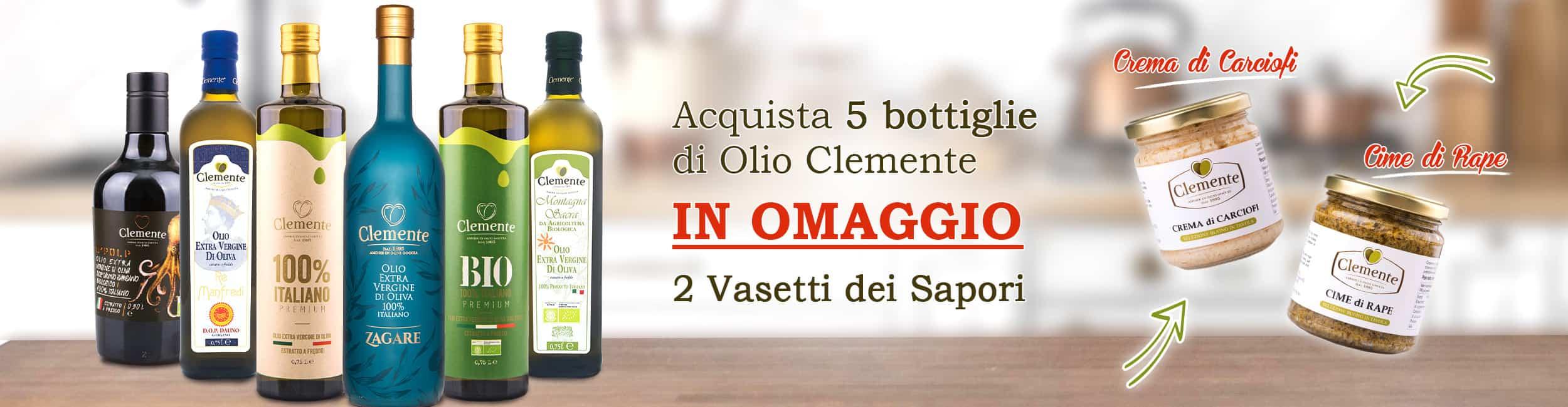 Slide Promo Vasetti - Olio Clemente